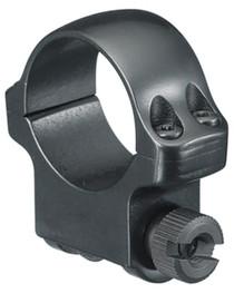 Ruger Clam Pack Single Ring Medium 30mm Diameter Hawkeye Matte Blued