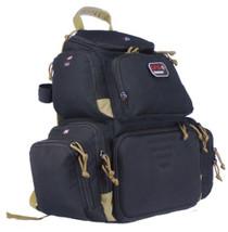 """G*Outdoors Handgunner Range Bag/Backpack 600D Polyester 16"""" x 10"""" x 19"""