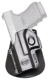 Fobus Paddle Holster For Glock 36 Black Left Hand