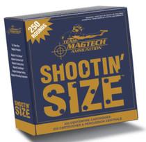 Magtech Shootin'' Size .357 Magnum 158 Grain Semi-Jacketed Soft Point Flat 250rd/Box