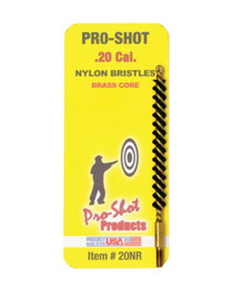 Pro-Shot .20 Cal. Nylon Rifle Brush