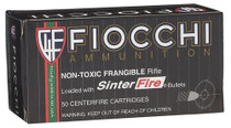 Fiocchi .223 Rem 45gr, Non-Toxic Frangible, 50rd/Box