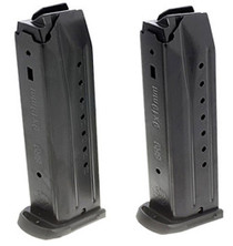 Ruger SR9/SR9C/9E/PC9 Magazine 2 Pack 9mm, Black, 17rd