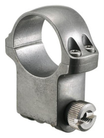Ruger Clam Pack Single Ring Extra High 30mm Diam Target Gray Stainless