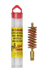 Pro-Shot Bronze Shotgun Bore Brush 20 Gauge