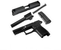 Sig Caliber X-Change KIT P320 Compact 357 Sig Black, 13rd