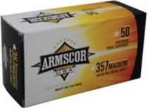 Armscor .357 Mag, 158 Gr, FMJ, 50rd/box