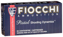 Fiocchi 9x21mm 123gr, FMJ, 50rd/Box