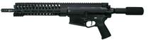 """POF Gen 4 AR Pistol 308 Win,12.5"""" Deep Fluted Barrel, 11.5"""" Modular Rail, Black, 30rd"""