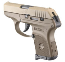 "Ruger LCP 380acp Full Flat Dark Earth 2.75"" Barrel 6rd Mag"