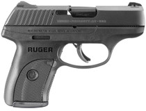 "Ruger LC9S Standard 9mm, 3.12"" Barrel, 3-Dot, Black Polymer Grip, 7rd Mag"