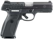"Ruger SR9E Pistol 9MM 4"" Barrel 3-Dot Sights Black 17 Rnd Mag"