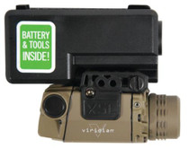 Viridian Lasers X5L Gen 2 Universal Green Laser With Tactical LED Light and ECR Flat Dark Earth