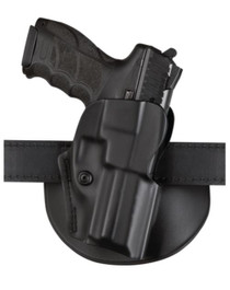 "Safariland 5198 Paddle Holster StI 2011 5"", Half Dust Cover, Polymer, Black"