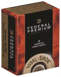 Federal Vital-Shok 10mm 180gr, Trophy Bonded JSP, 20rd/Box