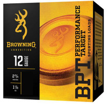 "Browning BPT Performance Target 12 Ga, 2.75"", 1-1/8oz, Handicap, 7.5 Shot, 25rd/Box"