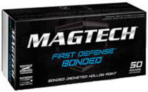 Magtech First Defense Bonded, 9mm, Bonded HP, 124 Gr, 50rd Box
