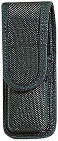 "Bianchi Single Mag Pouch 7303 Up to 2.25"" Belt Black Accumold Trilaminate, Fits Beretta 84/84F Cheetah/85/85F Puma, Ruger P90, Colt"