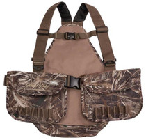 Tanglefree Waterfowl Upland Adjustable Vest, Max 5 Camo