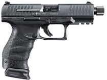 "Walther PPQ M2 Navy SD 9mm 4.6"" Barrel Black Finish 1-17Rd/1-15Rd, 2 Mags"