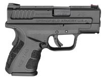 "Springfield XD Mod.2 Sub-Compact .40 S&W, 3"", 9rd, Black Melonite"