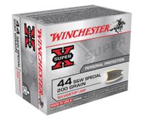 Winchester Super X 44 Special Silvertip HP 200gr, 20Box/10Case