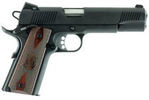 "Springfield 1911 Full Size, 45 ACP, 5"" Match Barrel Cocobolo Grips, Tritium Night Sights, Ambi Safety, 7rd Mag"