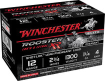 "Winchester Rooster XR Shot-Lok 12 Ga, 2.75"", 4 shot, 15rd/Box"