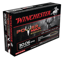Winchester Power-Max .30-06 Springfield 150 Grain Protected Hollow Point Bonded 20rd Box