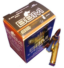 BBM Target Battlepack 5.56x45mm NATO 55gr, Full Metal Jacket, Boat Tail, 200rd/Case (10 Boxes of 20rd)