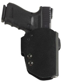 Galco Blakguard Glock 17/22/31, Ruger Secuirty-9, Black, RH