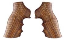 Hogue Ruger GP100/Super Redhawk Grip, Finger Grooves Cocobolo Hardwood