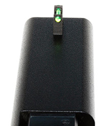 Wilson Vickers Elite Snag Free Front Green Fiber Optic Glock 9/40 Blk