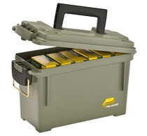 Plano Ammo Can, Holds 6-8 Boxes, O-Ring Water-Resistant Polyethylene, Olive Drab