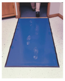 D-Lead Step Mat 28x60 Inches Blue, Removes 98% of Contaminants