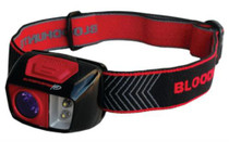 Primos Bloodhunter Headlamp 3 AAA Batteries Black/Red