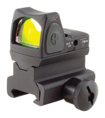 Trijicon RMR Type 2 Adjustable LED Sight, RM34 Picatinny Mount 3.25 MOA Red Dot Reticle