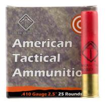 "ATI 410 Gauge 2.5"" Rifled Slug Shot 25 Bx"