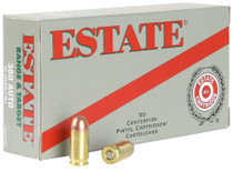 Estate Range 38 Spl, 130 Gr, FMJ, 20rd/box