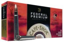 Federal Cape-Shok 375 H&H Magnum Trophy Bonded Bear Claw 300gr, 20rd Box