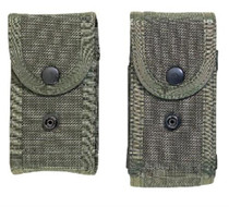 """Bianchi Military MagG Pouch M1025 Fits 2.25"""" Belts Olive Drab Accumold"""