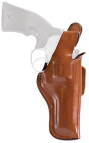 "Bianchi 5BH Thumbsnap Holster 2-2.5"" Barrel Small Revolver Plain Tan Right Hand"