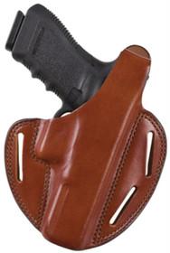 Bianchi 7 Shadow II Glock 19/23 9mm/.40 Caliber Plain Tan Right Hand