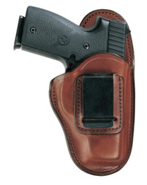 Bianchi 100 Professional Waistband Holster 9mm/.45 Size 11 Plain Tan Left Hand