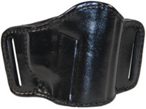 "Bianchi 105 Minimalist Belt Slide Holster Small 2"" Barrel Revolver Size 1 Plain Black Right Hand"