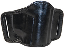 Bianchi 105 Minimalist Belt Slide Holster Beretta/Sig/Walther .380/.32 Size 1 Plain Black Right Hand