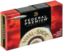 Federal Vital-Shok .338 Federal 210 Grain Nosler Partition