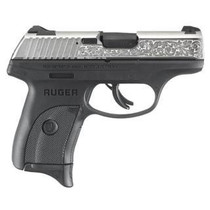 "Ruger LC9S Talo Edition, 9mm, 3.12"", 7rd, Black/Engraved Nickel"