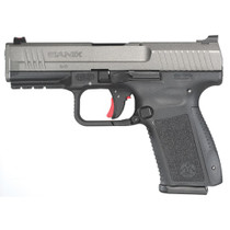 "Canik TP9SF Elite-S  9MM, 4"" Bbl,Tungsten Grey, 2-15 Rd Mags"