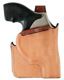 Bianchi 152 Pocket Piece LCR Ruger Pocket Tan Leather